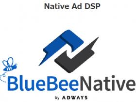 蓝蜂原生广告自动融合媒体设计,通过DSP实现规模化投放